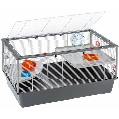 Ferplast CRICETI 100 Grande cage pour hamsters.. Variante CRICETI 100 - Mesures: 95 x 57 x h 50 cm -