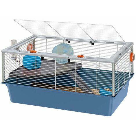 Ferplast CRICETI 15 Cage grandes dimensions pour hamsters. Variante CRICETI 15 - Mesures: 78 x 48 x h 39 cm -