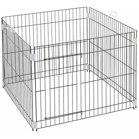 Ferplast DOG TRAINING Enclos éducatif pour chiots et chiens. Variante DOG TRAINING - Mesures: 80 x 80 x h 62 cm -
