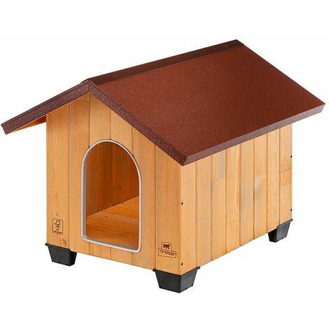 Ferplast DOMUS Niche pour chiens en bois de pin nordique - 6 tailles