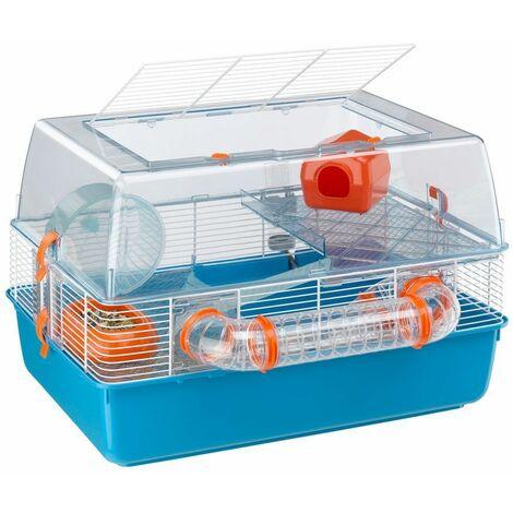 Ferplast DUNA FUN Cage grandes dimensions pour hamsters. Variante DUNA FUN - Mesures: 55 x 47 x h 37,5 cm -