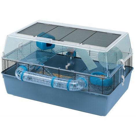 Ferplast DUNA FUN LARGE Grande cage pour hamsters et souris.. Variante DUNA FUN LARGE - Mesures: 71,5 x 46 x h 41 cm -