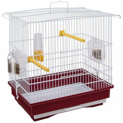 Ferplast GIUSY Cage pour canaris et autres petits oiseaux. Variante GIUSY - Mesures: 39 x 26 x h 37 cm -