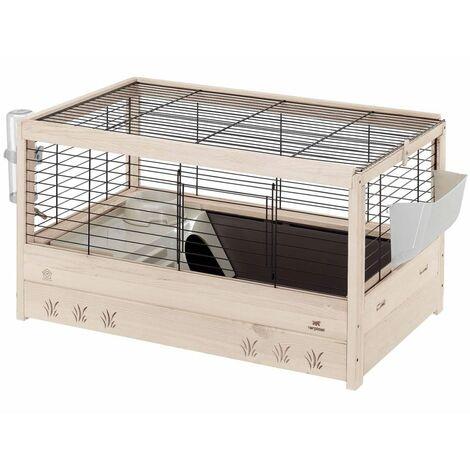Ferplast Guinea Pig Cage Arena 80 82x52x45.5 cm 57089317 - Black