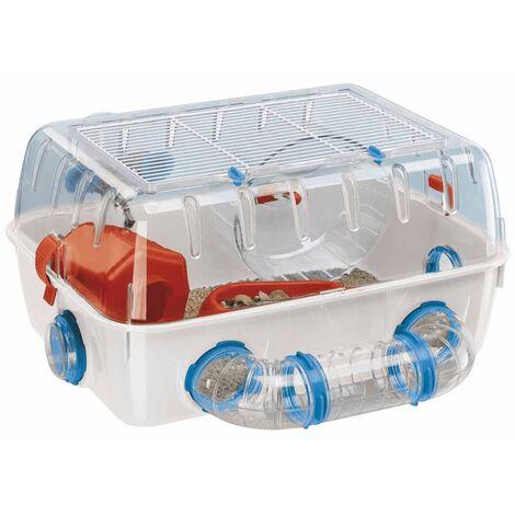 Ferplast Hamster Cage Combi 1 White 40.5x29.5x22.5 cm 57923499 - White