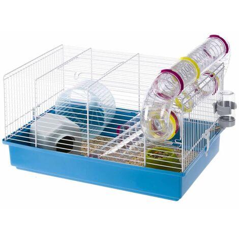 Ferplast Hamster Cage Paula Blue 46x29.5x24.5 cm 57906411 - Blue