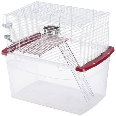Ferplast Jaula de roedores de dos pisos Gerbi 57057511