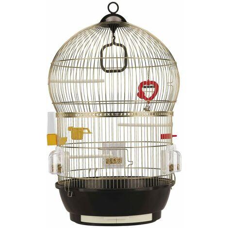 Ferplast Jaula para pájaros Bali 40x65 cm 51018802 - Marrón