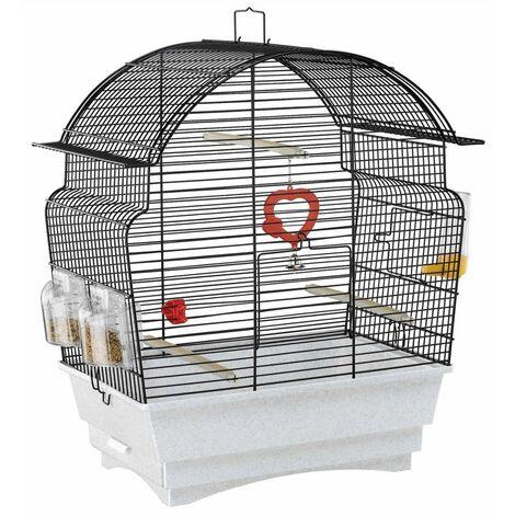 Ferplast Jaula para pájaros Rosa 46,5x28x54 cm 52015817