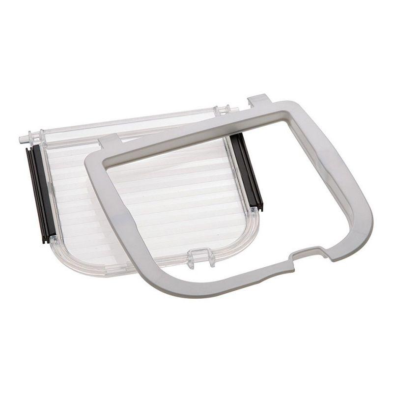 Kit 406 blanc porte/contour chatière Swing