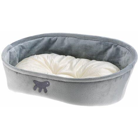Ferplast LASKA Corbeille en tissu pour chiens et chats avec coussin double-face. Différentes couleurs et tailles.