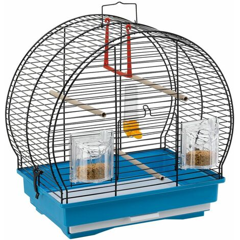 Ferplast LUNA 1 Cage pour canaris et autres petits oiseaux. Variante LUNA 1 - Mesures: 40 x 23,5 x h 38,5 cm -