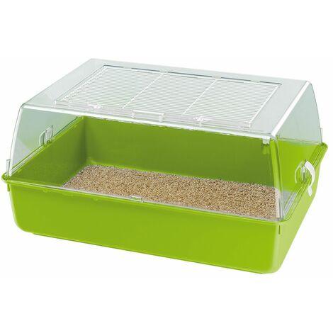 Ferplast MINI DUNA MULTY Petite cage sans accessoire pour hamsters et petits rongeurs. Variante MINI DUNA MULTY - Mesures: 55 x 39 x h 27 cm -