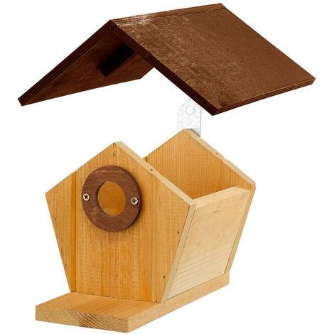 Un nichoir: quels sont les matériaux adaptés