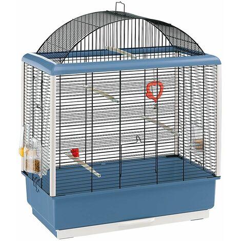 Ferplast PALLADIO 4 Cage pour canaris et autres petits oiseaux. Variante PALLADIO 4 - Mesures: 59 x 33 x h 69 cm -
