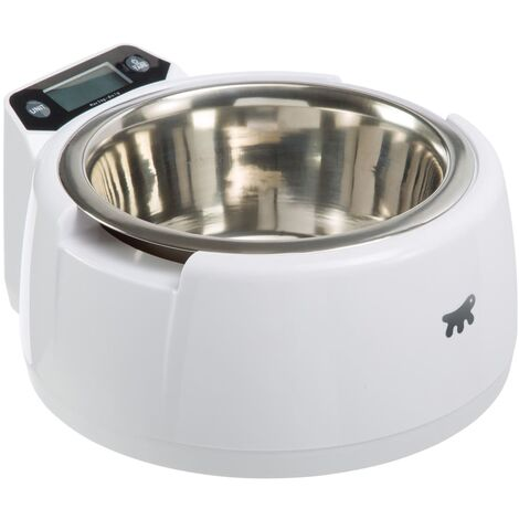 Ferplast Pet Food Bowl with Integrated Scale Optima 71084200