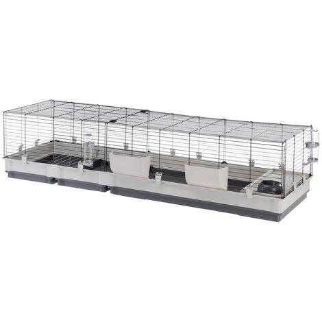 Ferplast Rabbit Cage Krolik 200 205x60x50 cm Grey - Grey