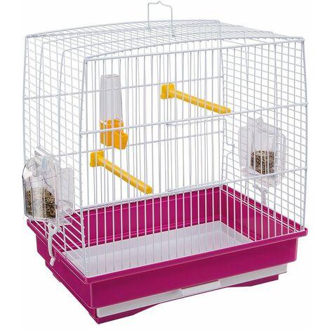 Ferplast REKORD 1 Cage pour canaris et autres petits oiseaux. Variante REKORD 1 - Mesures: 35,5 x 24,7 x h 37 cm -