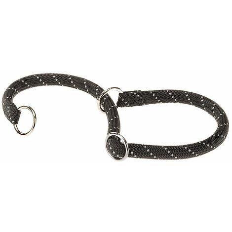Ferplast Daytona collare semi-strangolo imbottito per cane nero