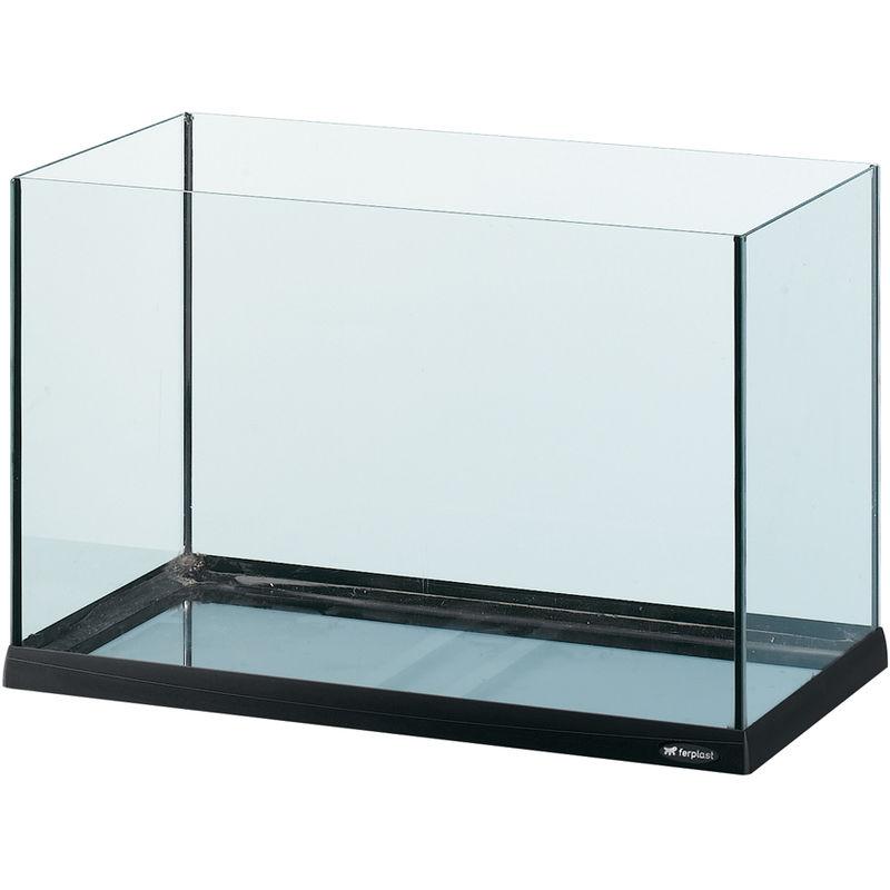 Ferplast tank 60 75 l vasca per pesci in vetro for Vasca giardino pesci