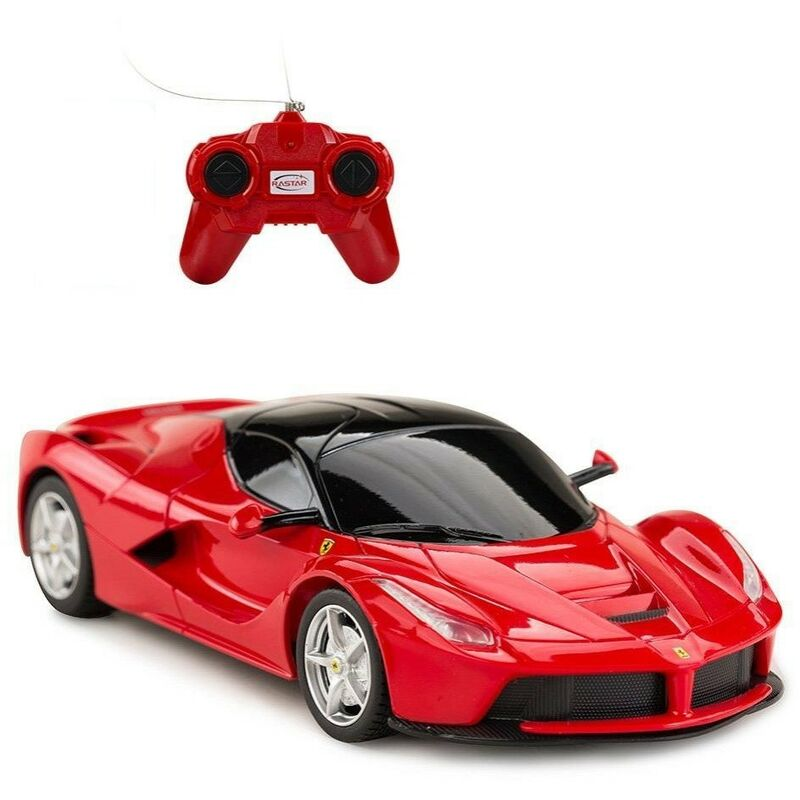 Image of Radio Controlled Car (One Size) (Red) - Ferrari
