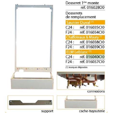 Ferroli 016035O0 Backrest Replacement Kit Saunier Duval - domiproject C24