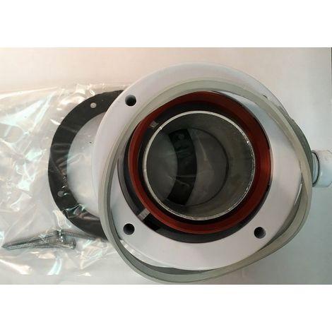 Ferroli 303857/010018X0 - Adaptater vertical 80/125