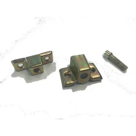 Ferrure d'assemblage acier laitonné QDCR - FERAP1F15