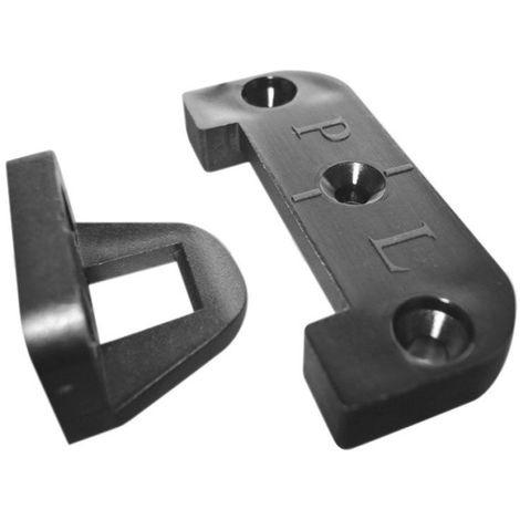 Ferrure d'assemblage panel lock - Platine : 60 x 25 x 8 mm - ITAR