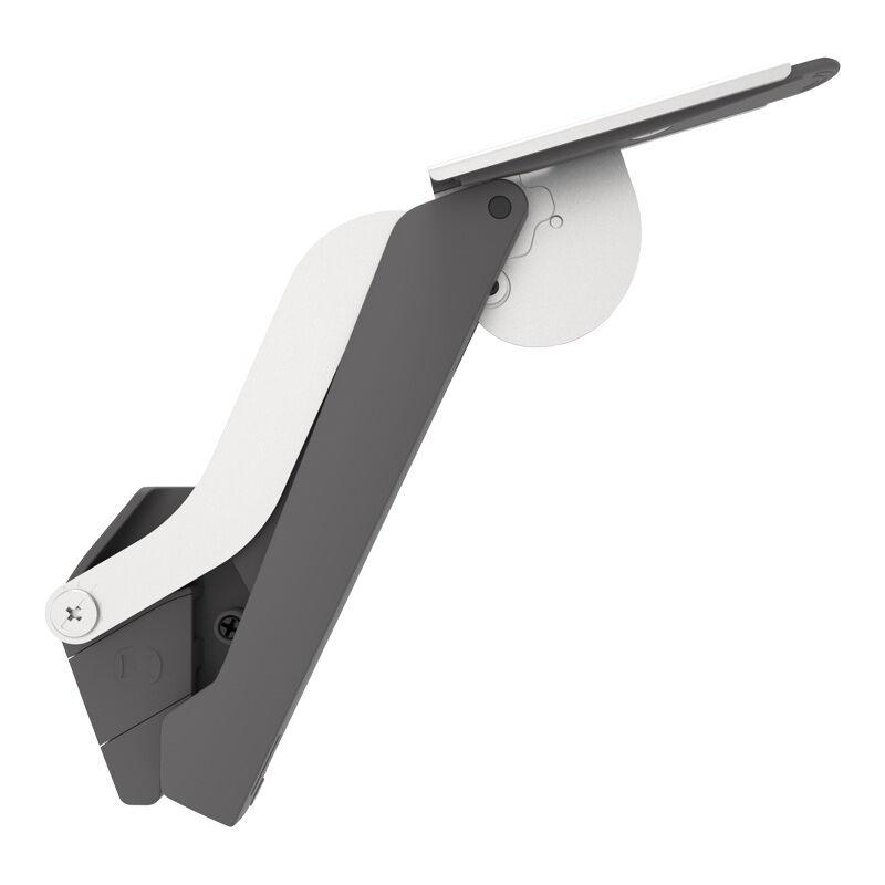 Kesseböhmer - Ferrure de porte relevable freespace - Décor : Blanc / Nickelé - Force : C - KESSEBOHMER - Vendu à la paire