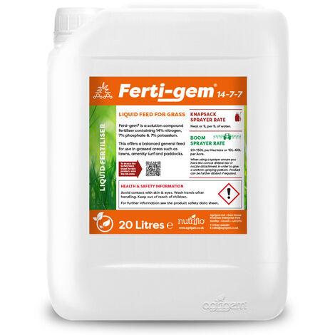 Ferti gem Liquid Fertiliser 20L