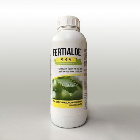 FERTIALOE®, fertilizante nutriente abono ecológico líquido con aloe vera - 1 litro