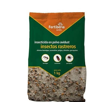 Fertiberia INSECTICIDA Polvo Insectos Rastreros - 1 Kg