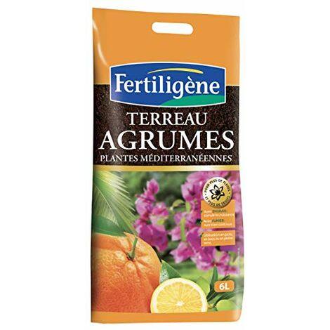 Fertiligene 8455 Terreau Agrumes et Plantes Mediterraneennes 6 L