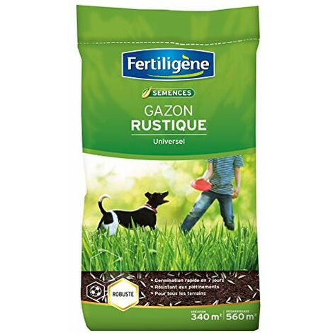 Fertiligene Gazon Rustique Universel, 340m²