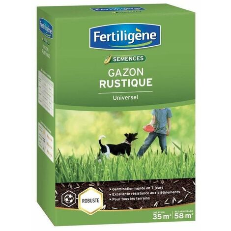 FERTILIGENE Gazon Rustique Universel - 875 g
