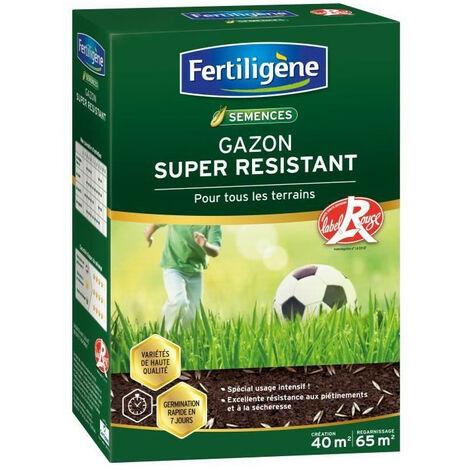 FERTILIGENE Gazon Super Résistant Tous Terrains - 1 kg