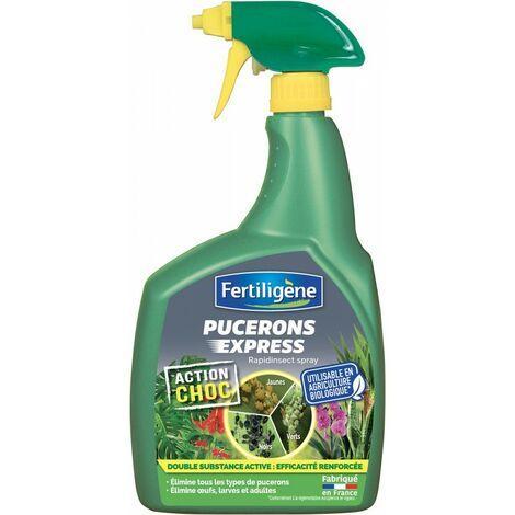 Fertiligène - Insecticide pucerons express prêt à l'emploi 700ml