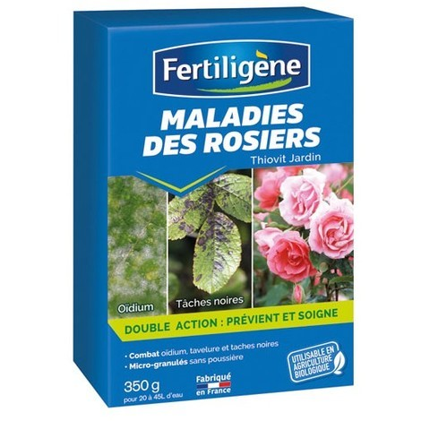 Fertiligène - Maladies des rosiers 350g