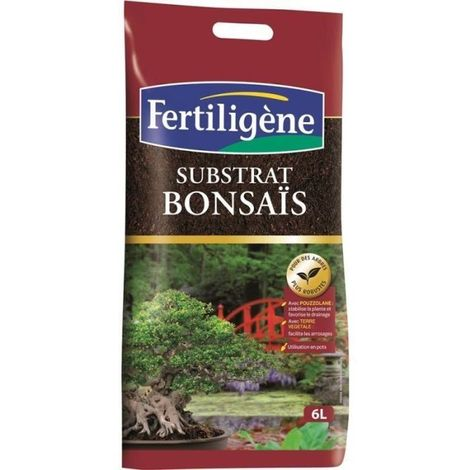 FERTILIGENE Substrat bonsais - 6 L