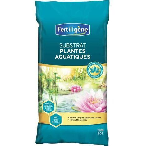 FERTILIGENE SUBSTRAT POUR PLANTES AQUATIQUES - 20 L