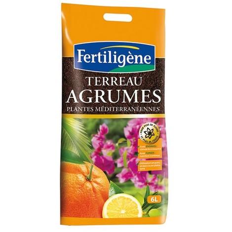 """main image of """"FERTILIGENE - Terreau agrumes et plantes méditerranéennes 6l"""""""