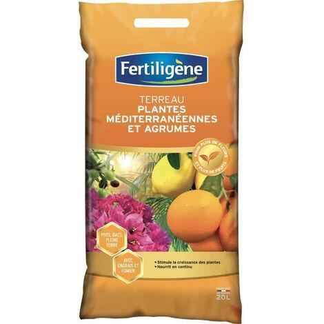 "main image of ""FERTILIGENE Terreau Plantes Mediterraneennes - 20 L"""