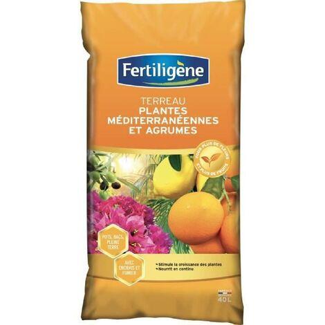 FERTILIGENE Terreau Plantes Mediterraneennes - 40 L