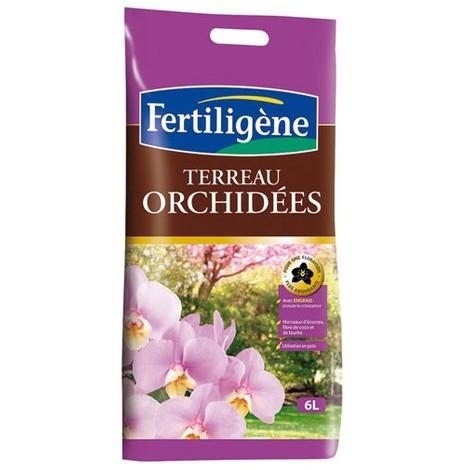 FERTILIGENE - Terreau pour orchidees - 6 L