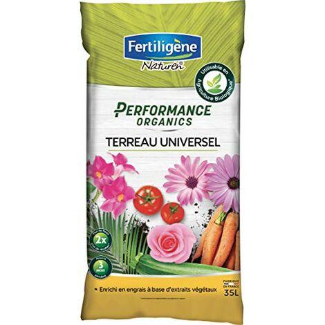 FERTILIGENE Terreau Universel Performance Organics, 35L