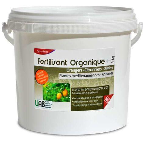 Fertilisant professionnel agrumes, orangers, citronniers, oliviers. 4