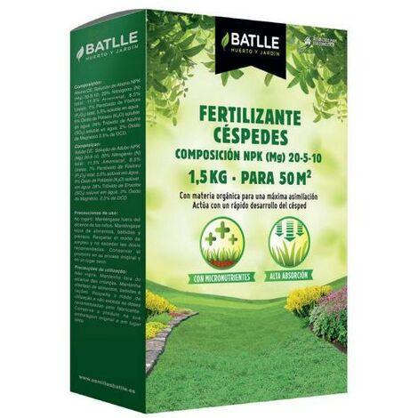 Fertilizante césped granulado 5kg