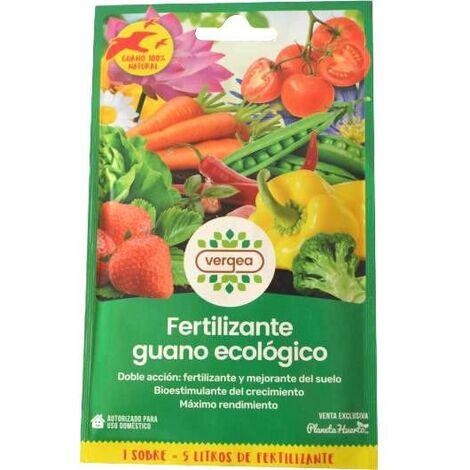 Fertilizante De Guano Ecológico Vergea
