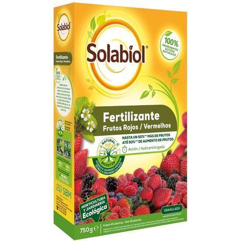 Fertilizante granulado para frutos rojos SOLABIOL 750g